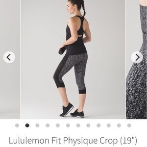 💥BLOWOUT SALE💥 Lululemon Fit Physique crop
